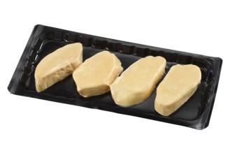 Escalopes de foie gras d'oie