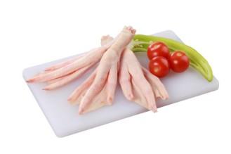 Pattes de canard gras